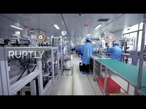 China: Factory produces 5 million masks a day in bid to supply shortfall